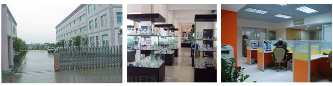 china crystal manufactory showroom