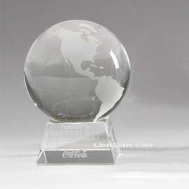 3d Laser Crystal Balls Engraved Crystal Spheres Optic