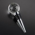 crystal golf wine bottle stopper