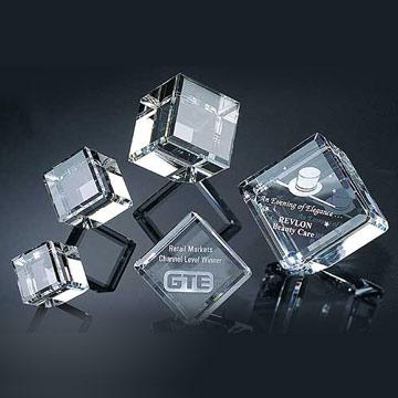 Laser Crystal 3d Laser Etched Glass Cube Laser Engraved