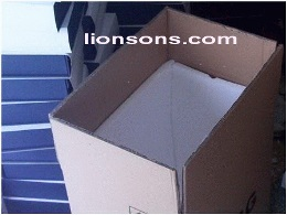 crystal shipping carton